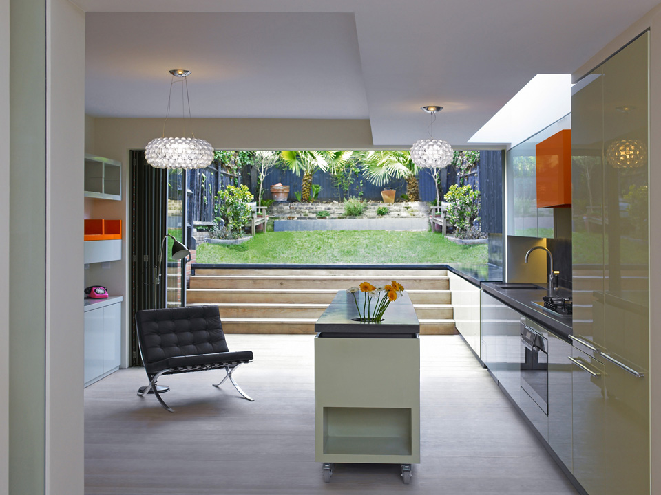 Inside out house draisci studio for House and garden kitchen photos